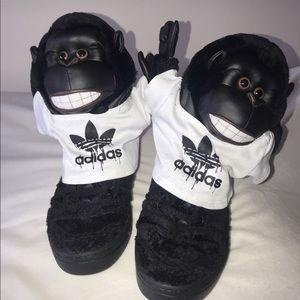 Jeremy Scott King King Sneakers Size 8